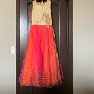 Indian gown for a girl